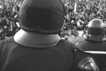 Fans und Polizei